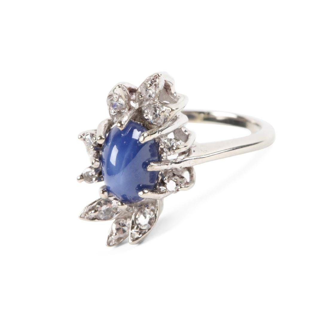 A 14K Gold, Diamond Ring