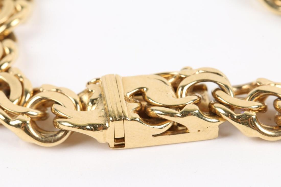 An 18K Gold Bracelet - 3