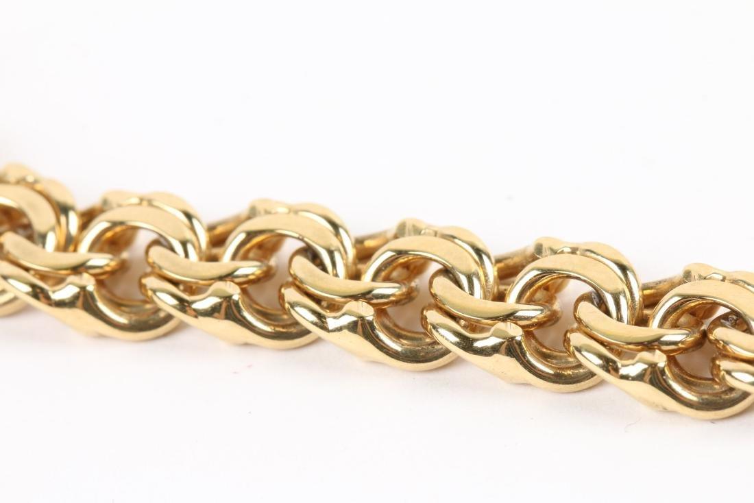 An 18K Gold Bracelet - 5