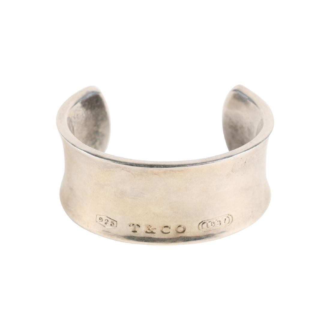 A Tiffany Sterling Silver Bangle Bracelet