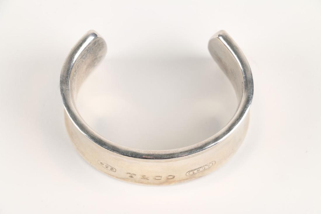 A Tiffany Sterling Silver Bangle Bracelet - 2