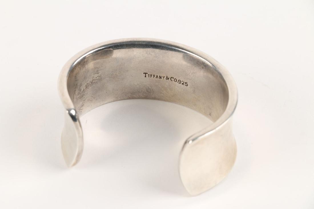 A Tiffany Sterling Silver Bangle Bracelet - 3