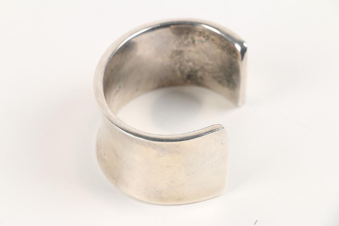 A Tiffany Sterling Silver Bangle Bracelet - 4