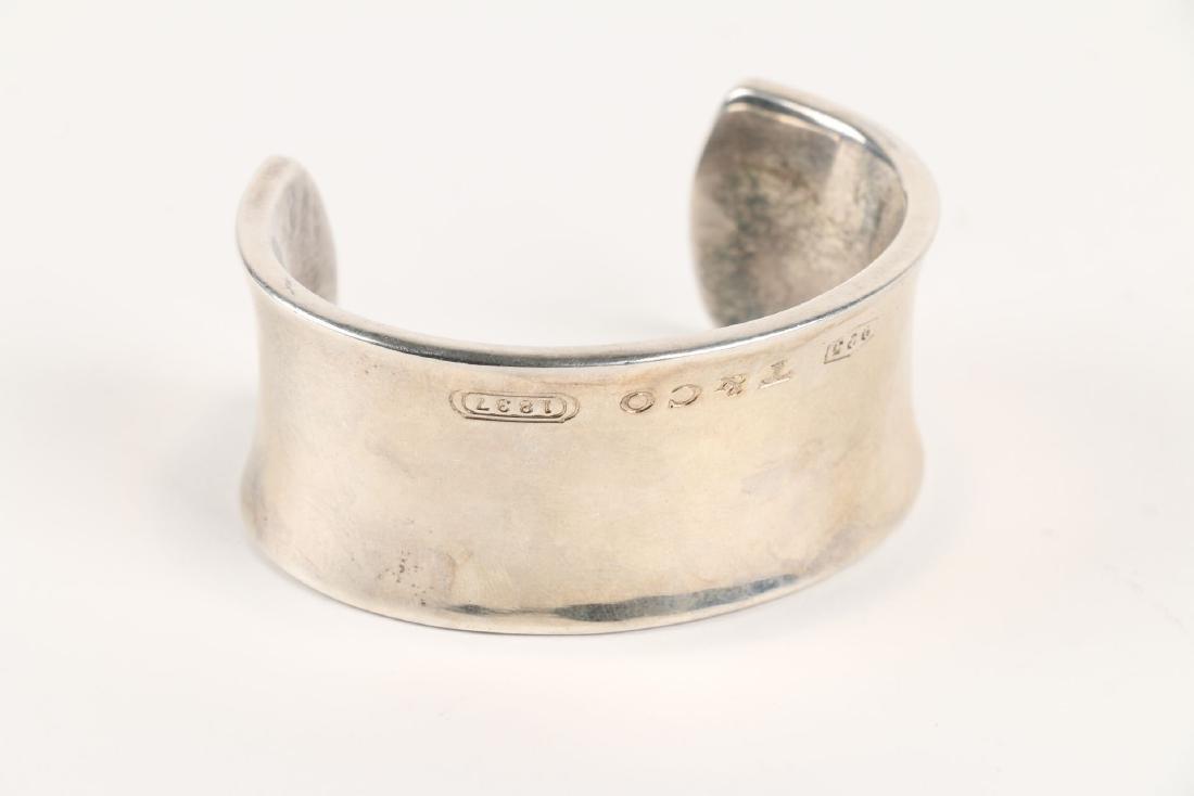 A Tiffany Sterling Silver Bangle Bracelet - 5