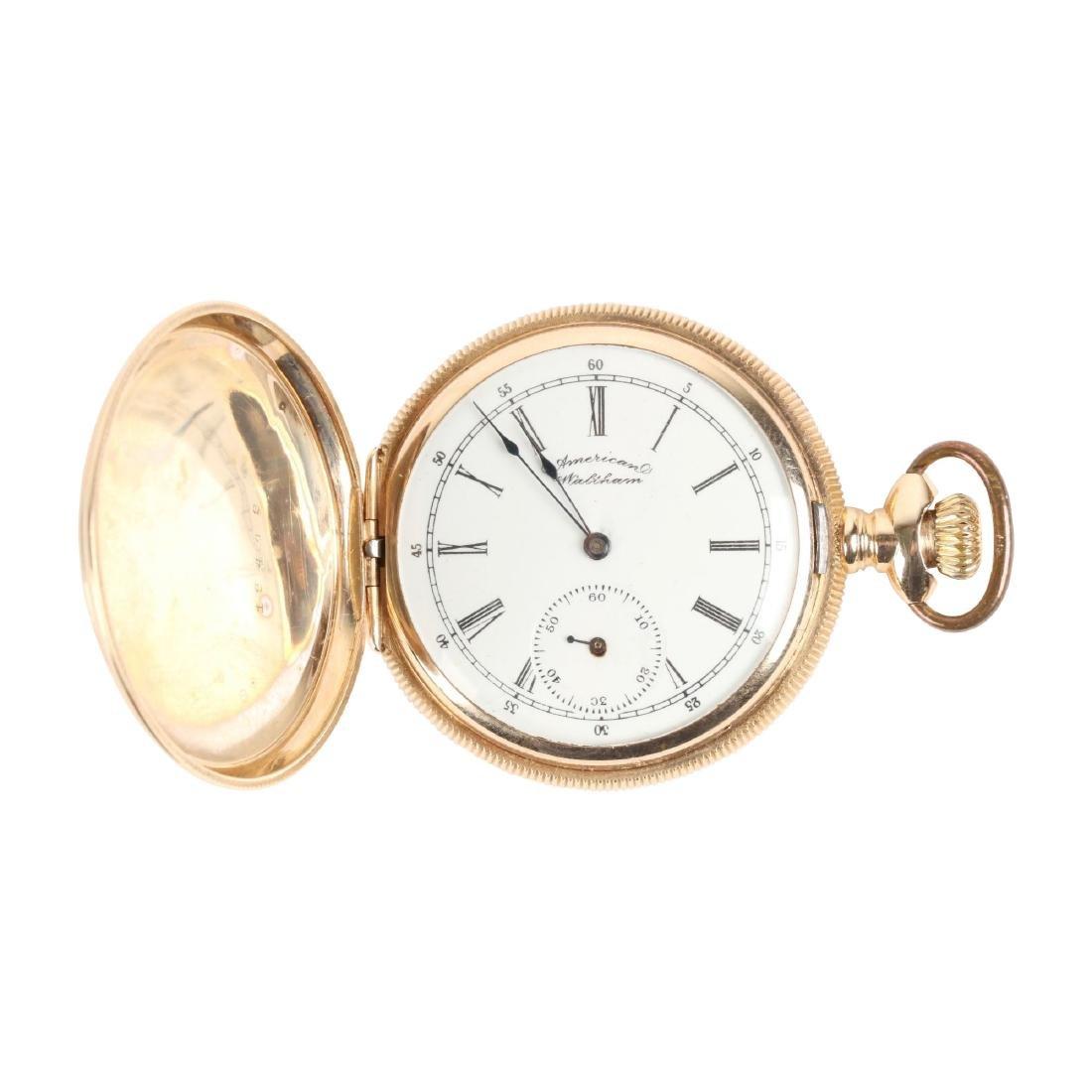 Waltham, Lady's 14K Gold Pocket Watch