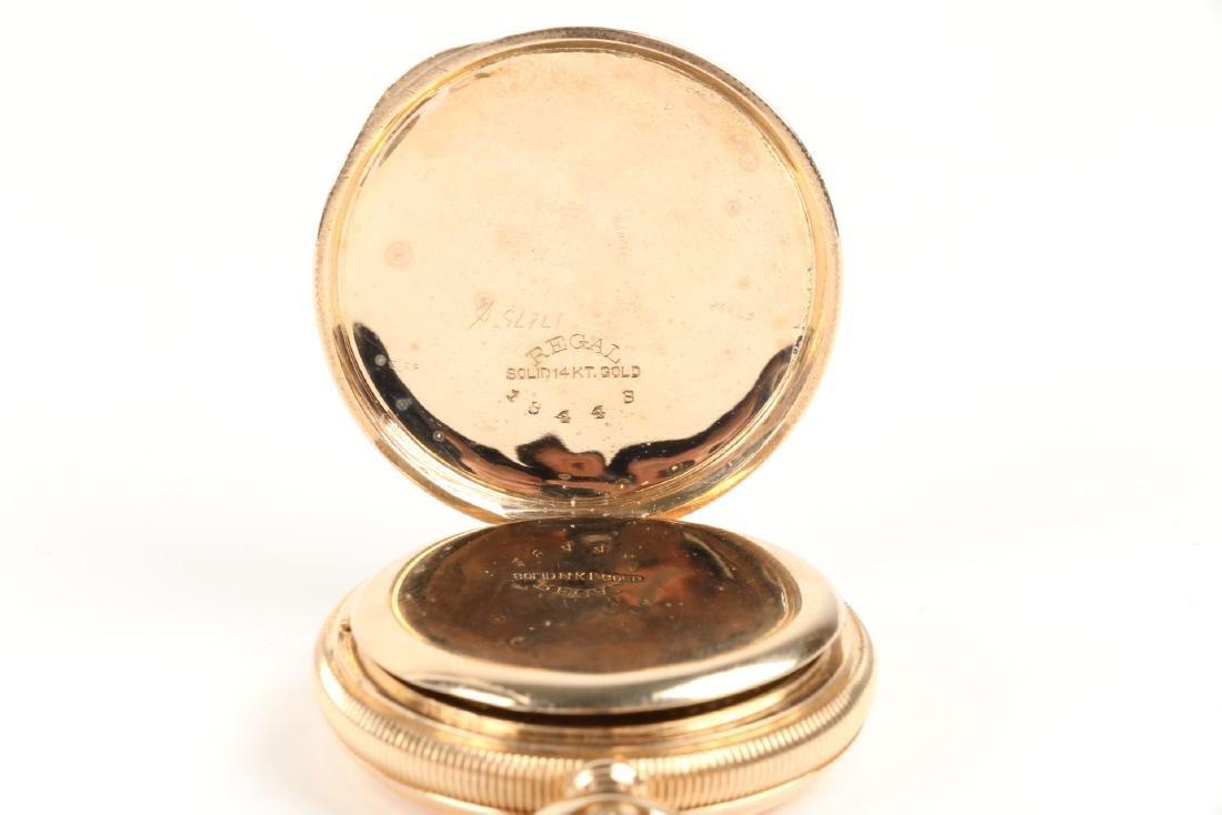 Waltham, Lady's 14K Gold Pocket Watch - 3