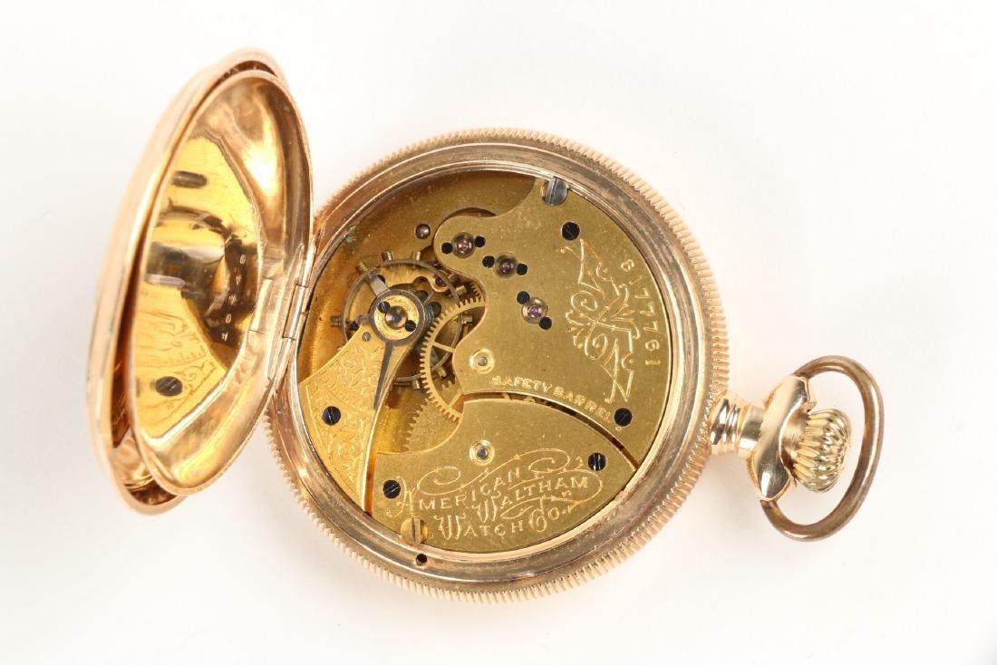 Waltham, Lady's 14K Gold Pocket Watch - 4