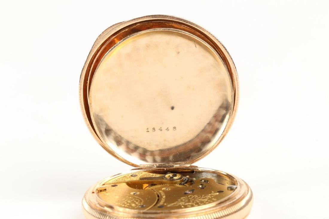 Waltham, Lady's 14K Gold Pocket Watch - 5