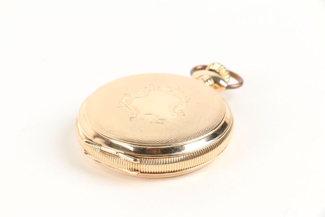 Waltham, Lady's 14K Gold Pocket Watch - 8