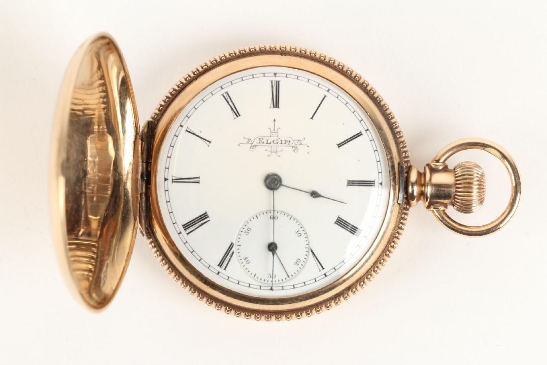 Elgin, Lady's 14K Pocket Watch - 2