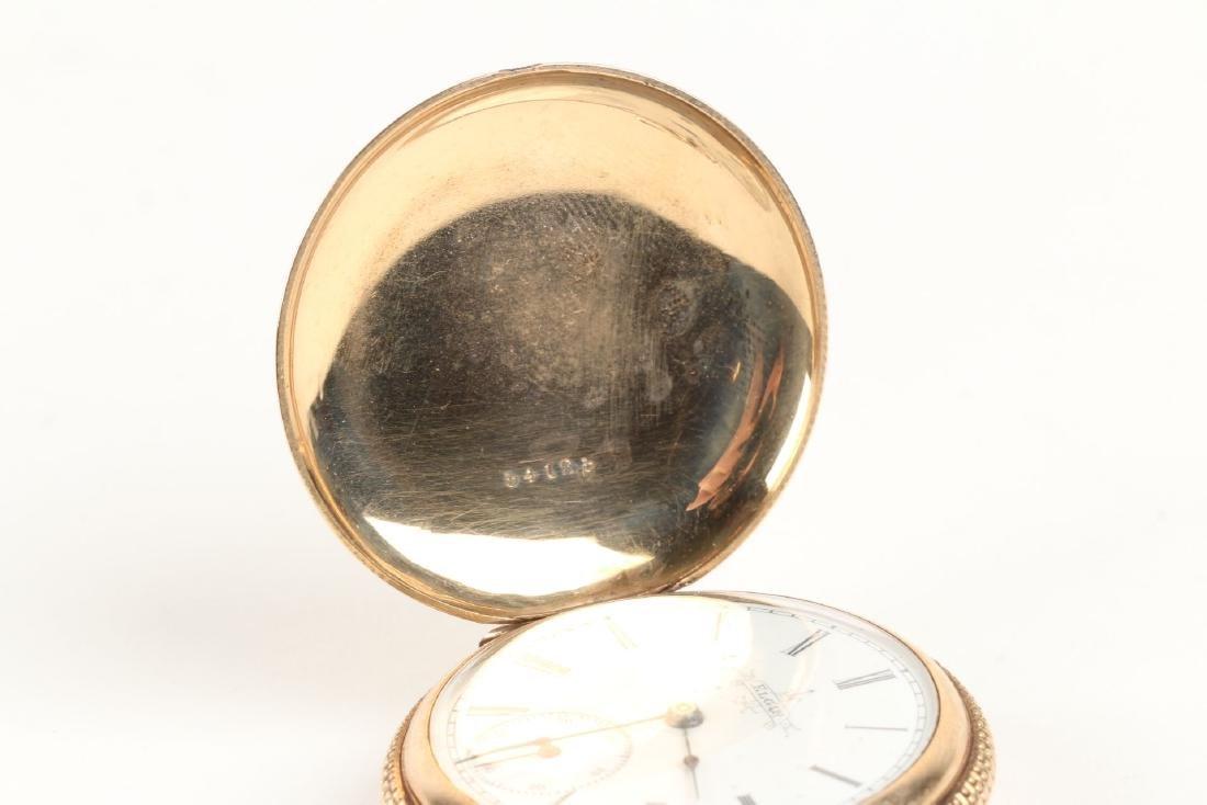 Elgin, Lady's 14K Pocket Watch - 3