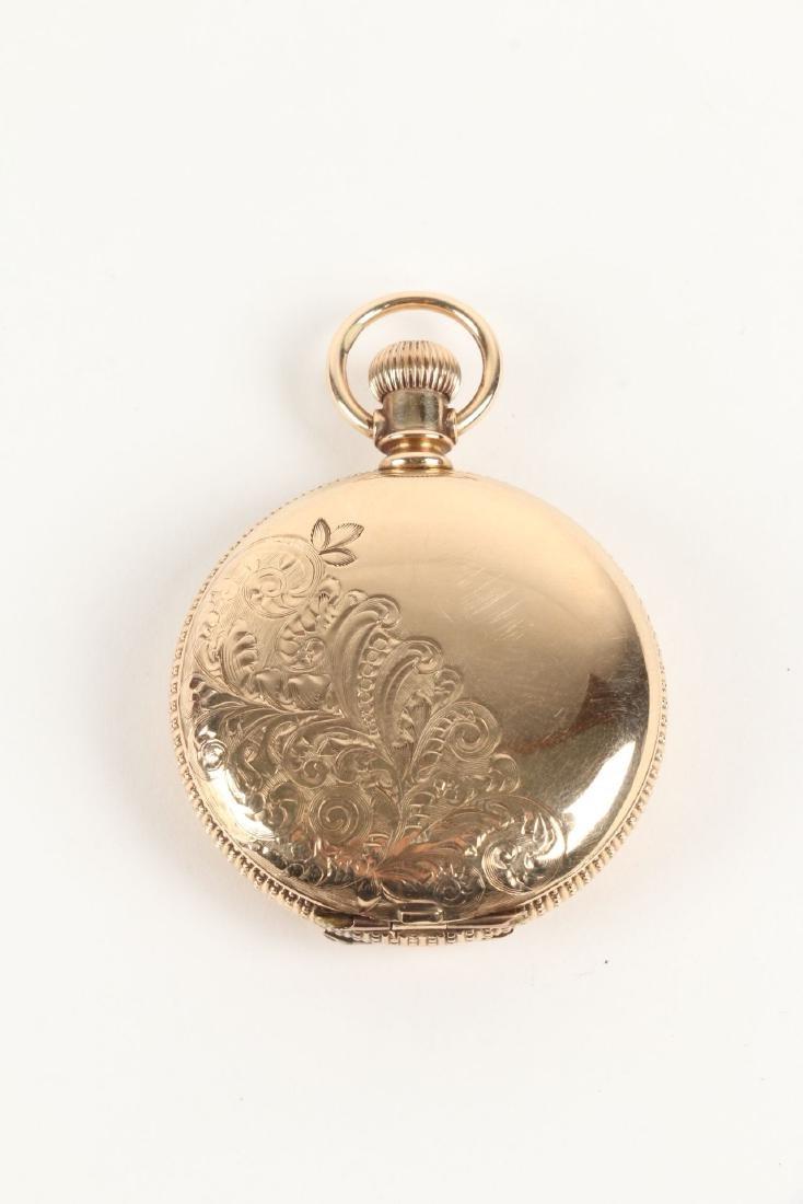 Elgin, Lady's 14K Pocket Watch - 4
