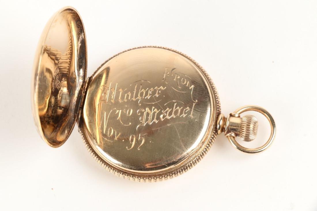 Elgin, Lady's 14K Pocket Watch - 7