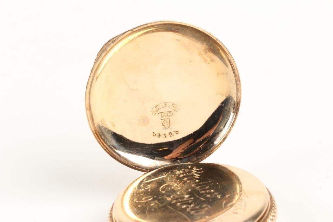 Elgin, Lady's 14K Pocket Watch - 8