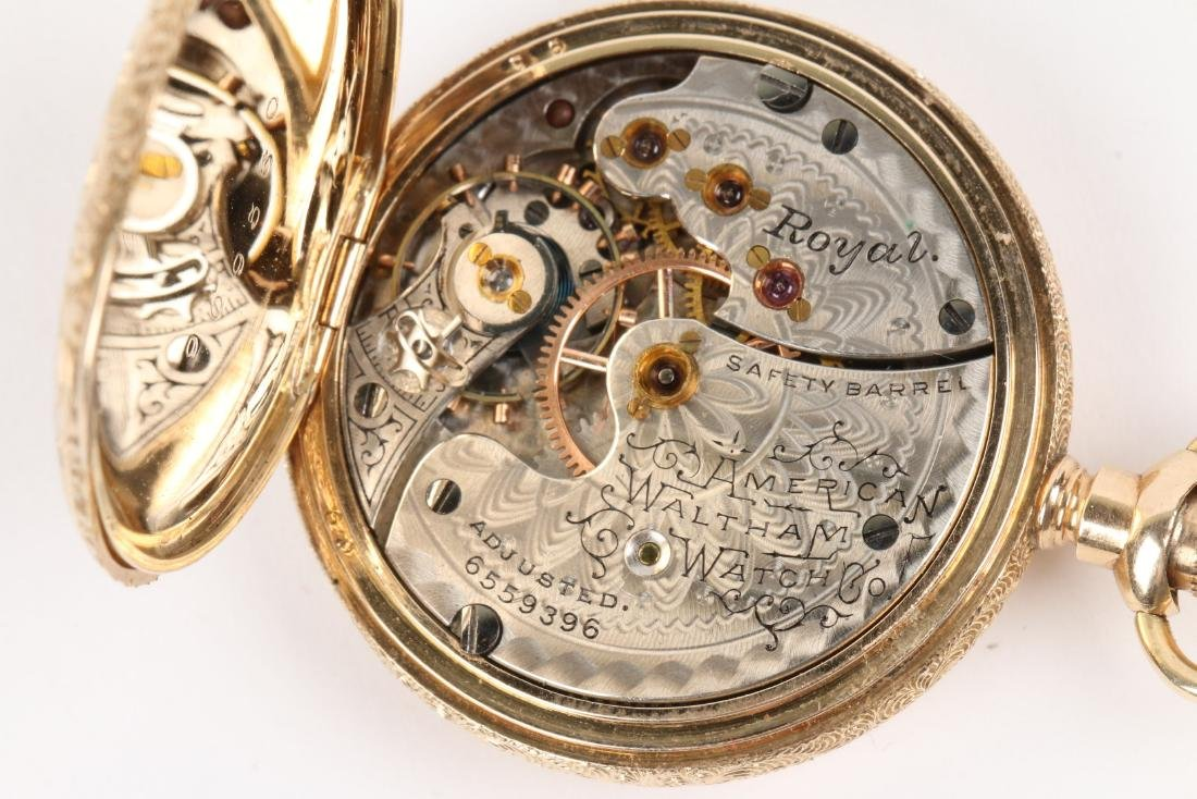 "Waltham, Lady's 14K ""Royal"" Pocket Watch - 9"