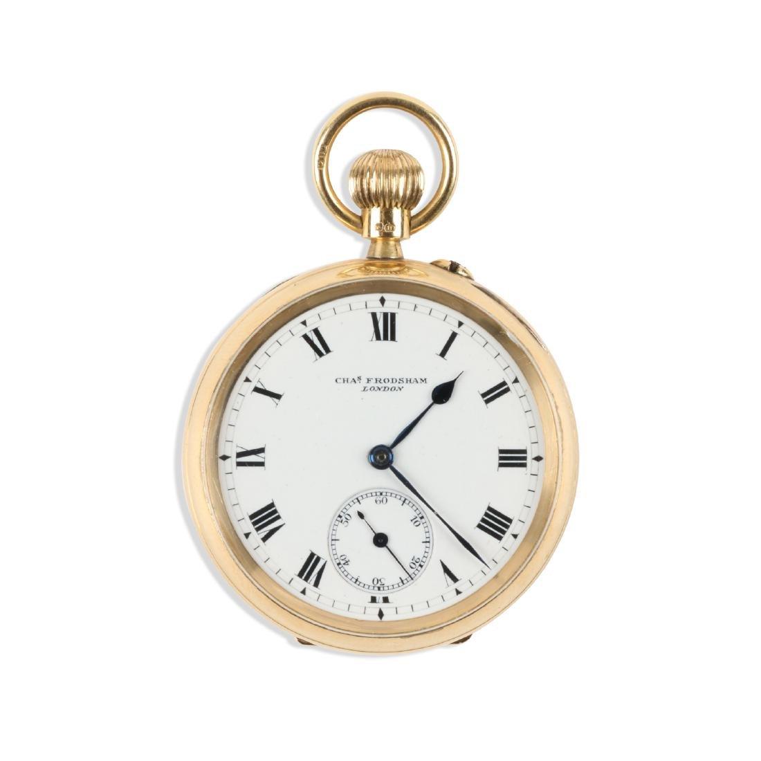 Charles Frodsham, London, 18K Pocket Watch