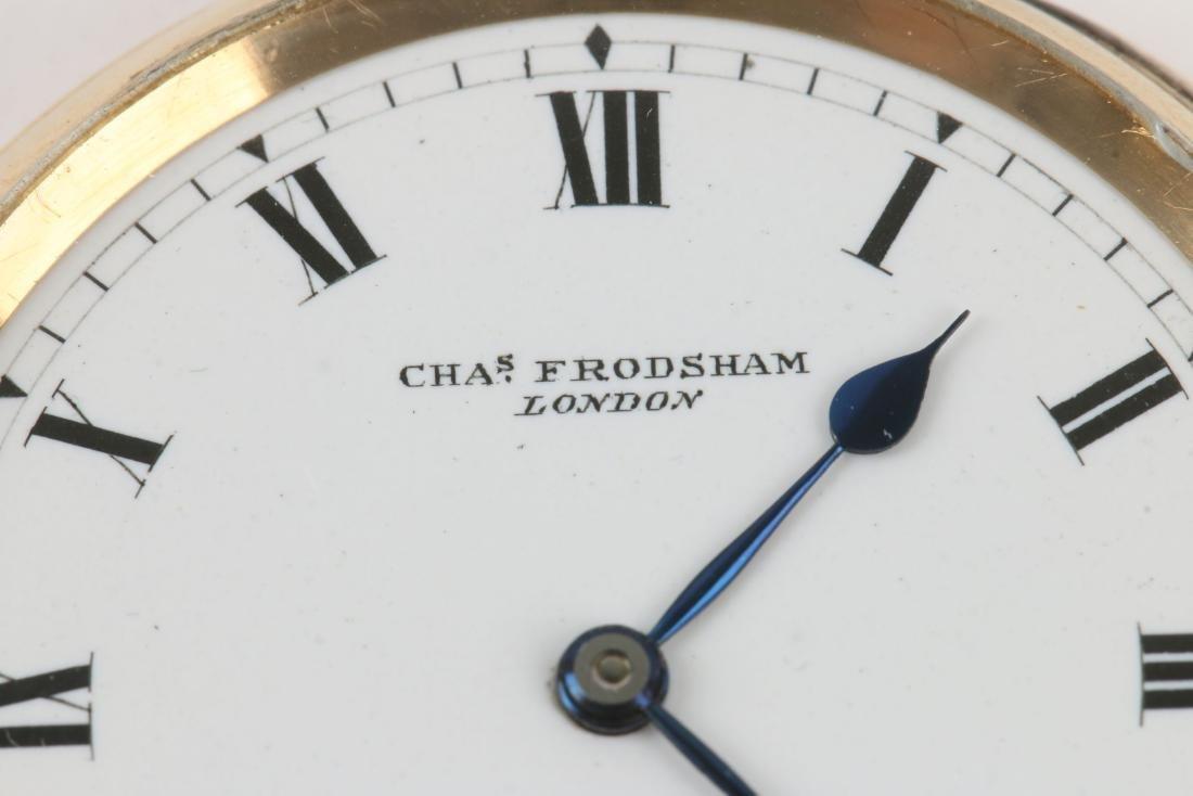 Charles Frodsham, London, 18K Pocket Watch - 2