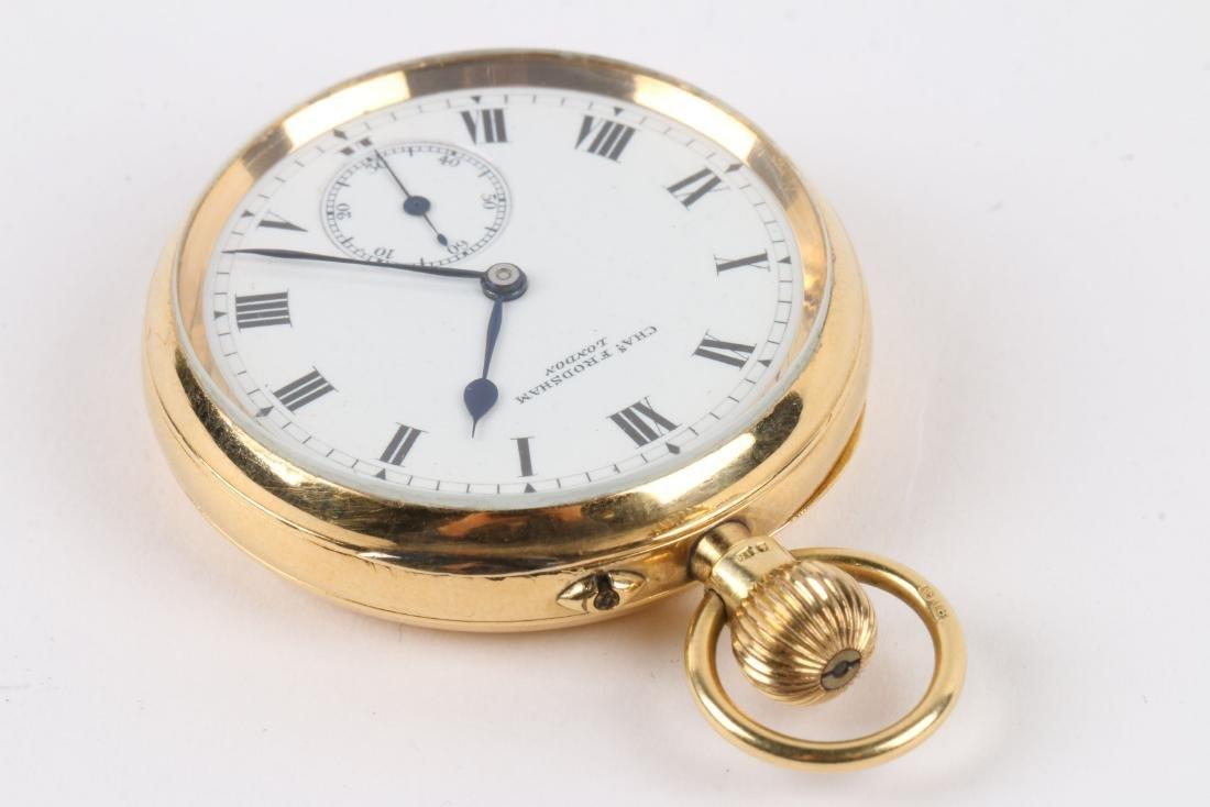 Charles Frodsham, London, 18K Pocket Watch - 3
