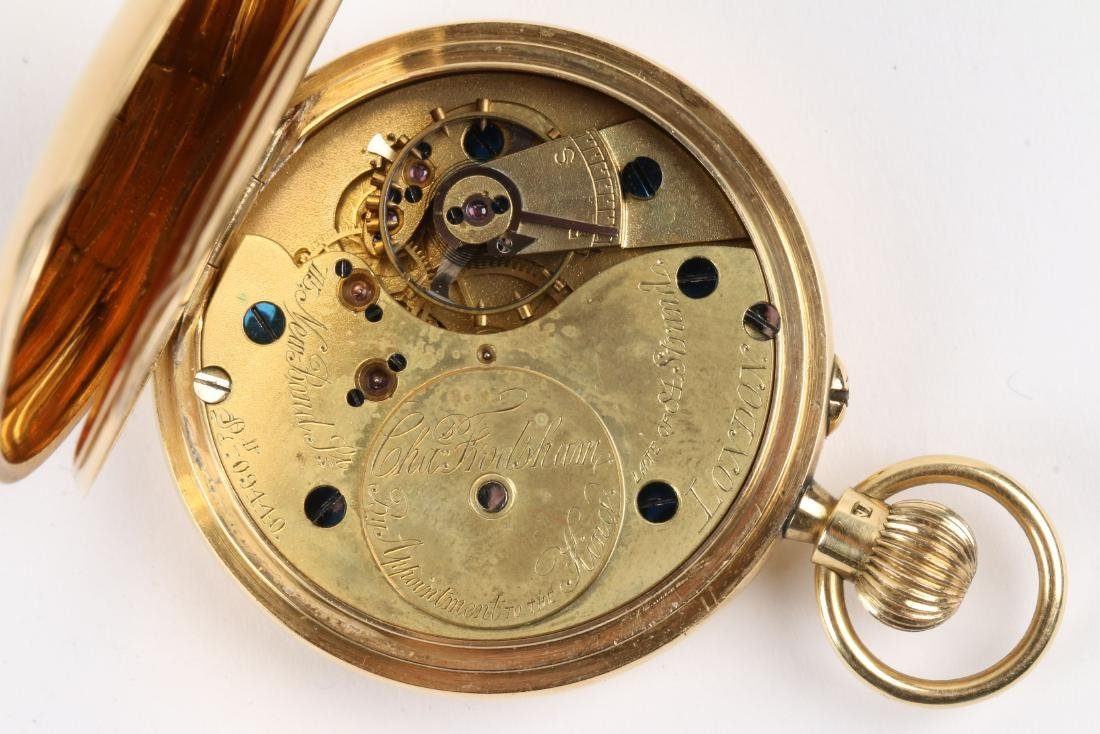 Charles Frodsham, London, 18K Pocket Watch - 7
