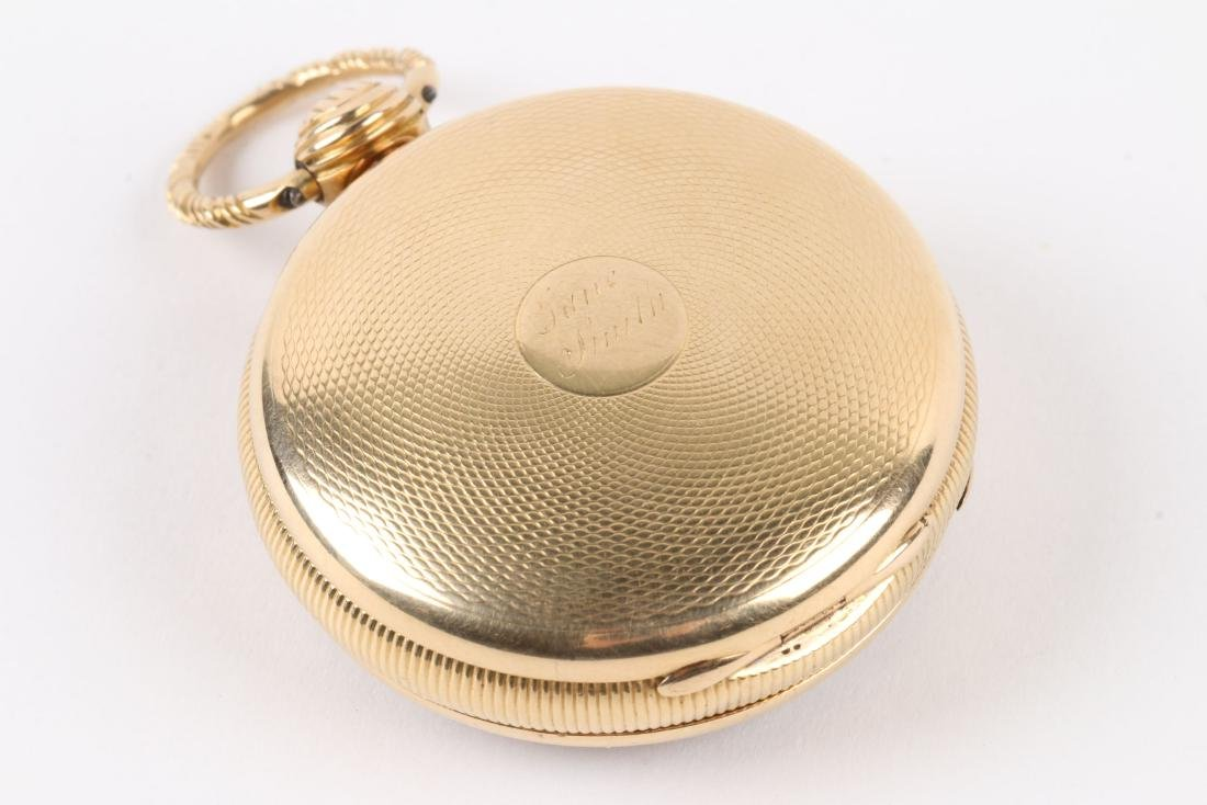 English, Lady's 18K Fusee Pocket Watch - 3
