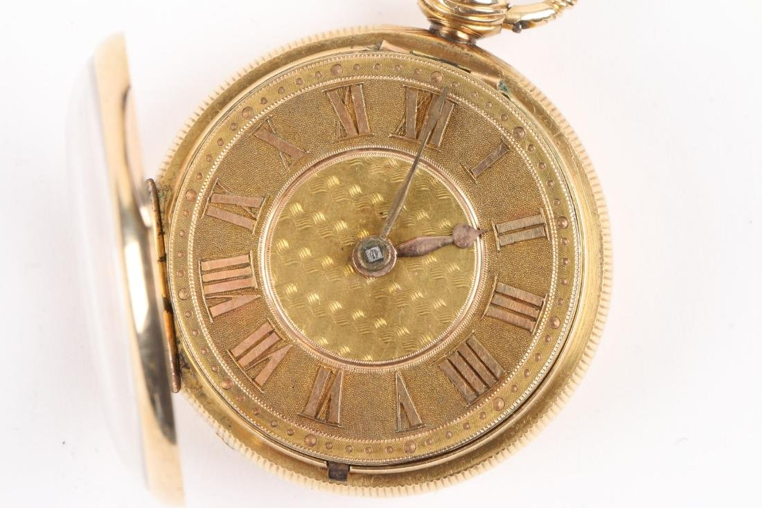 English, Lady's 18K Fusee Pocket Watch - 6