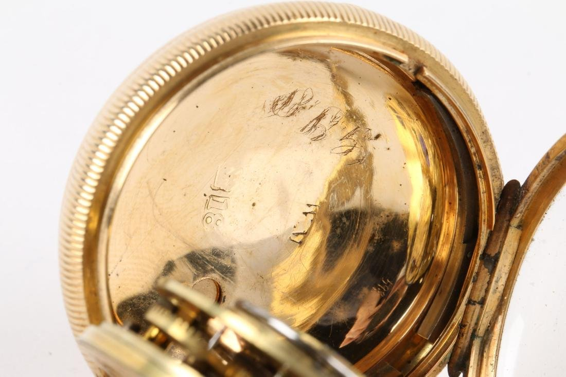 English, Lady's 18K Fusee Pocket Watch - 8