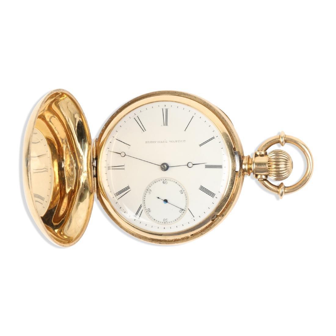 Elgin Nat'l, Gent's 18K Pocket Watch