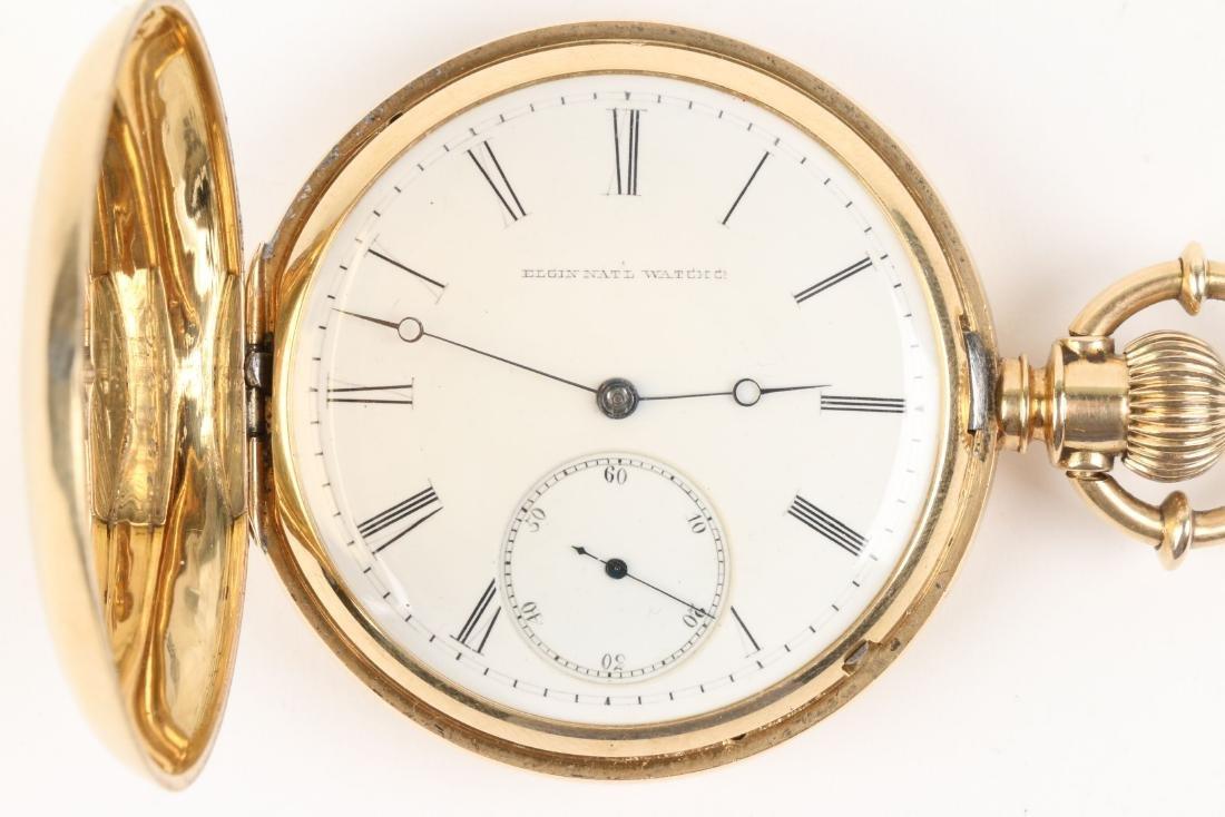 Elgin Nat'l, Gent's 18K Pocket Watch - 2