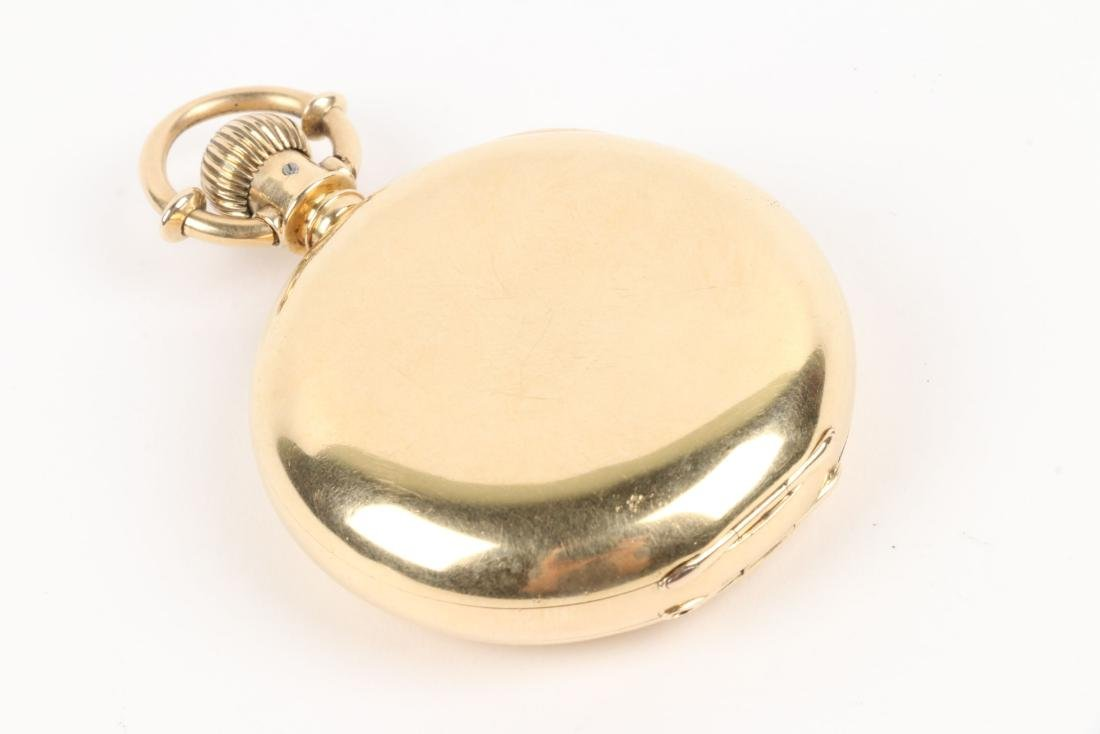 Elgin Nat'l, Gent's 18K Pocket Watch - 5
