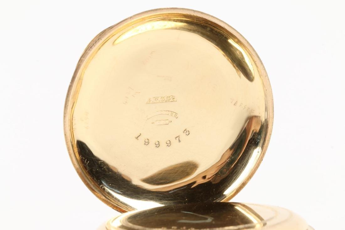 Elgin Nat'l, Gent's 18K Pocket Watch - 6