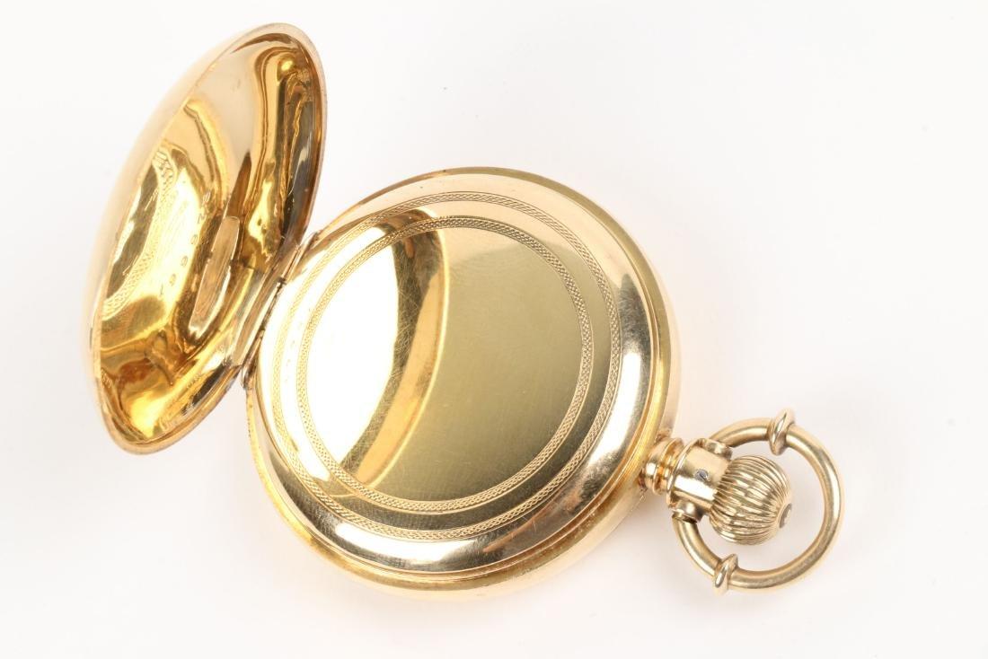Elgin Nat'l, Gent's 18K Pocket Watch - 7