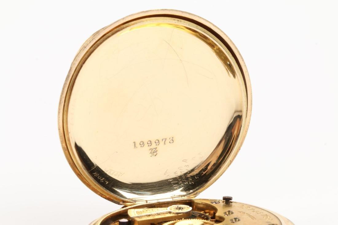 Elgin Nat'l, Gent's 18K Pocket Watch - 8