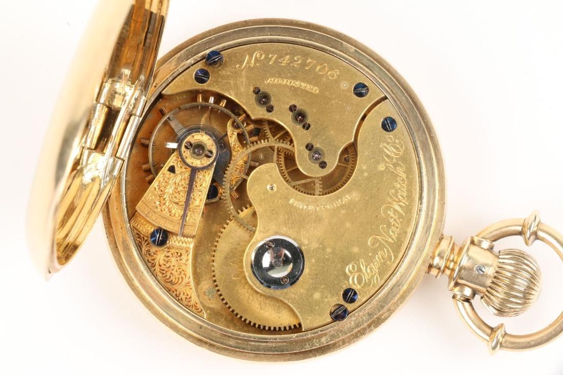 Elgin Nat'l, Gent's 18K Pocket Watch - 9