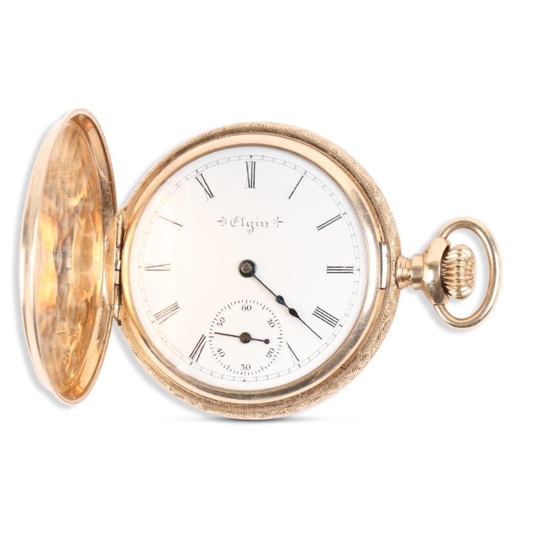 Elgin, 14K Pocket Watch