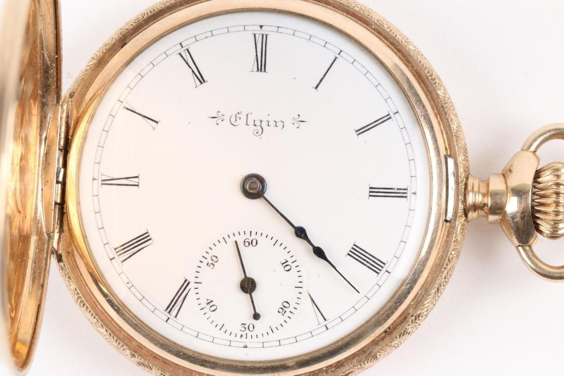 Elgin, 14K Pocket Watch - 2