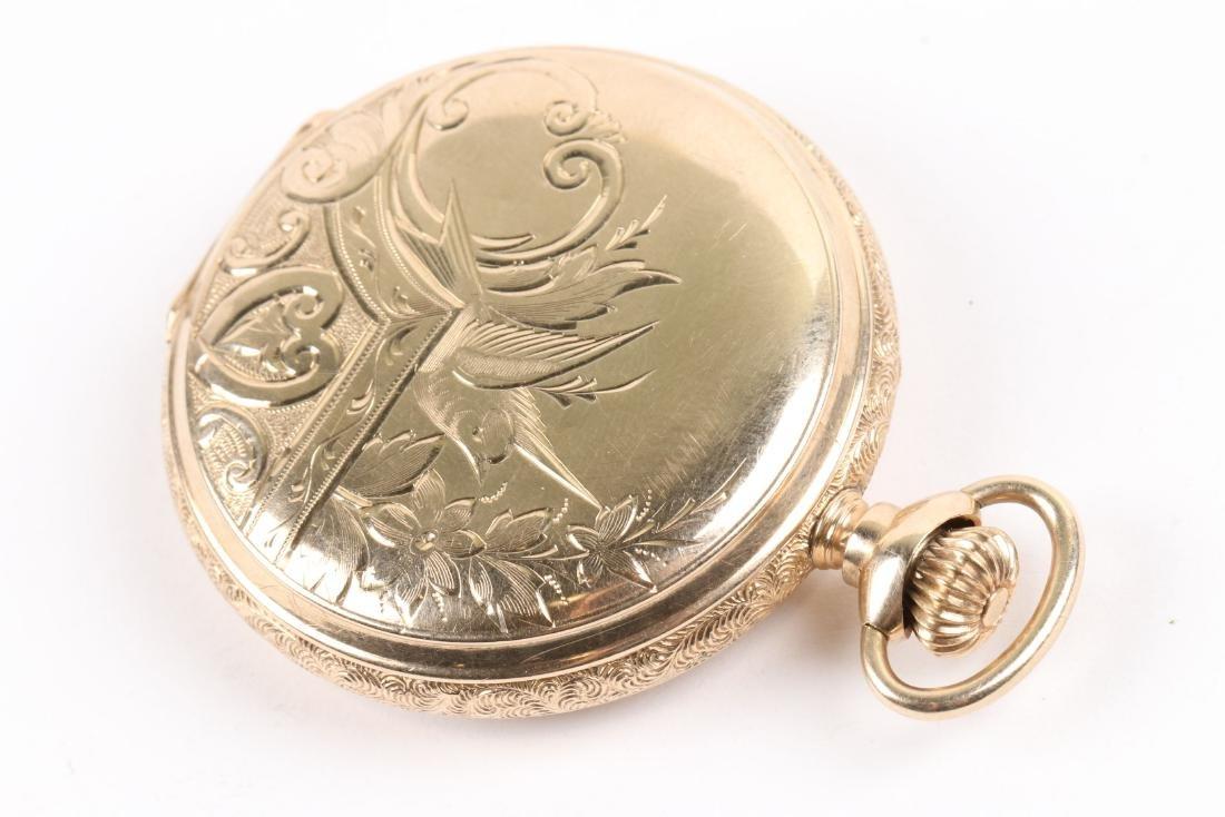 Elgin, 14K Pocket Watch - 4