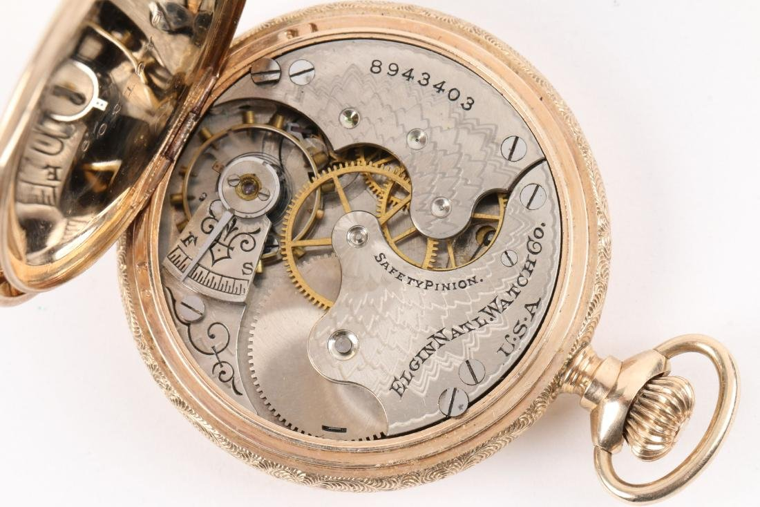 Elgin, 14K Pocket Watch - 8