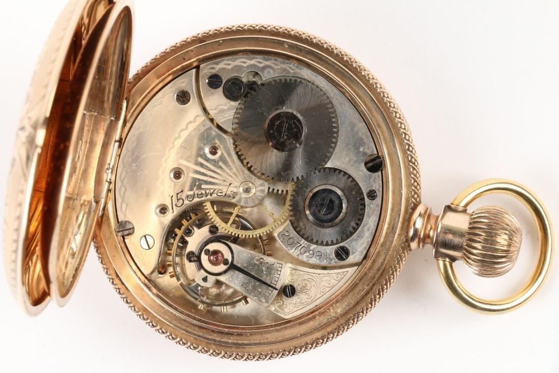 Omega, 14K Pocket Watch - 7