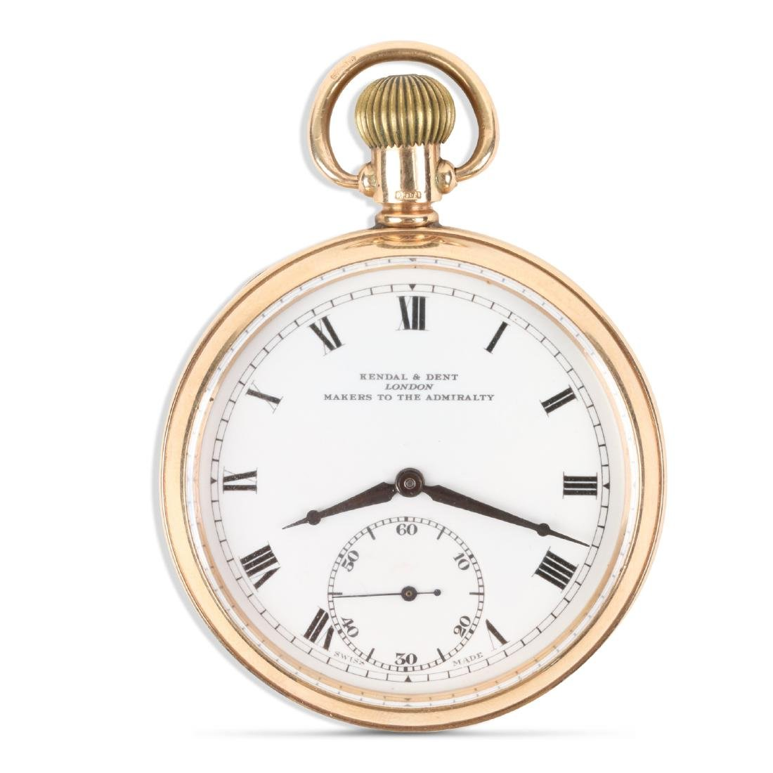 Kendall & Dent, 9K English Pocket Watch