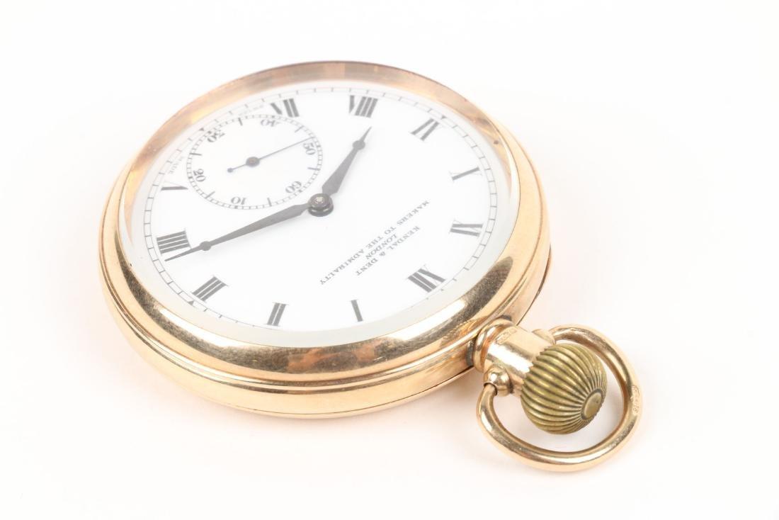 Kendall & Dent, 9K English Pocket Watch - 2