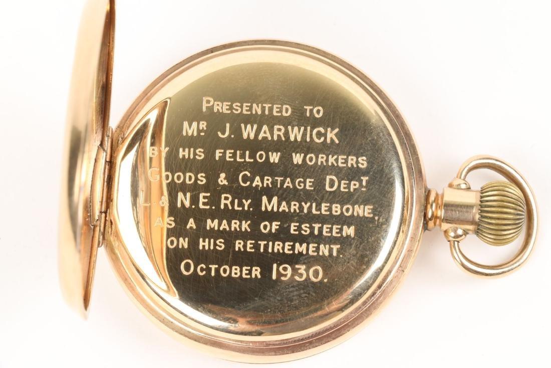 Kendall & Dent, 9K English Pocket Watch - 5