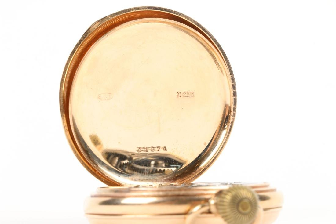 Kendall & Dent, 9K English Pocket Watch - 6