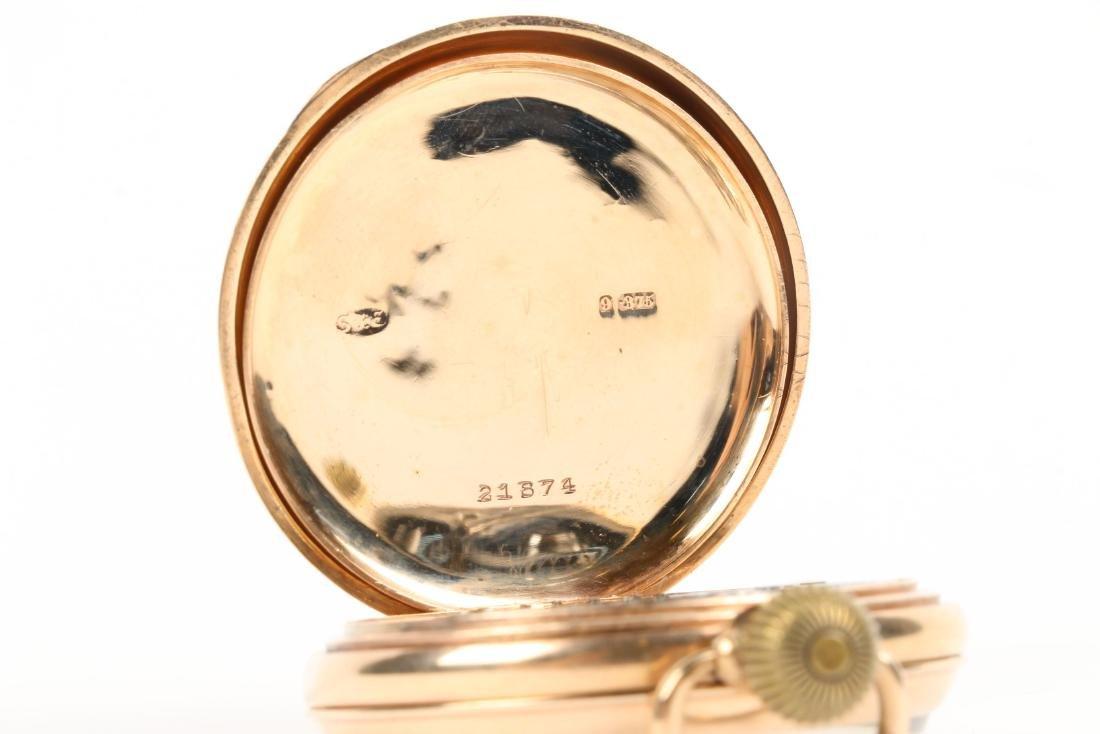 Kendall & Dent, 9K English Pocket Watch - 7