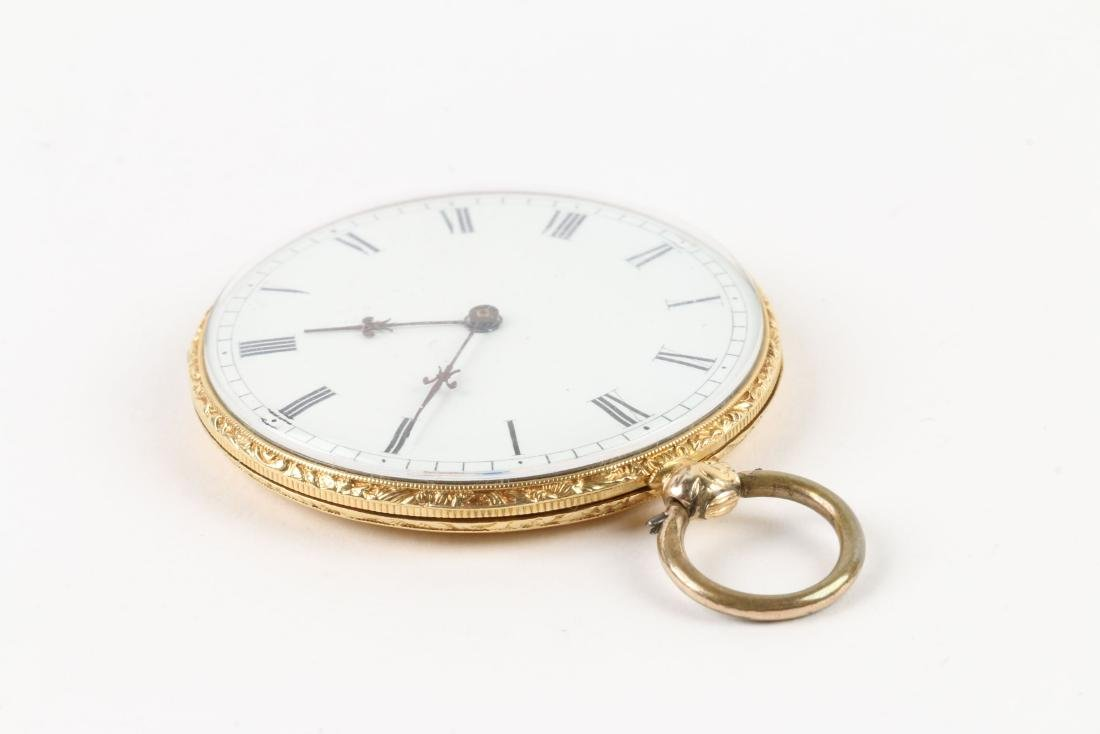Aiguilles Courvoisier & Fils, 18K Pocket Watch - 2