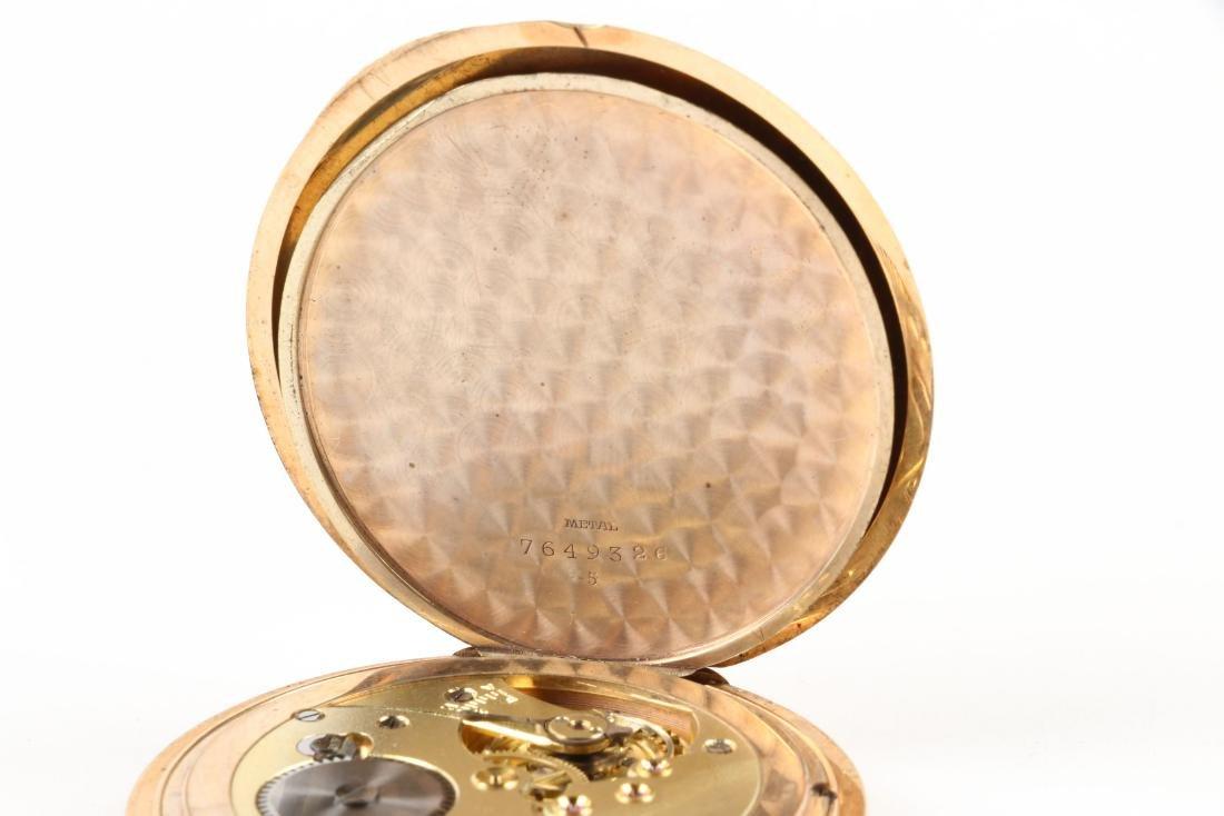 French, 14K Rose Gold Pocket Watch - 9