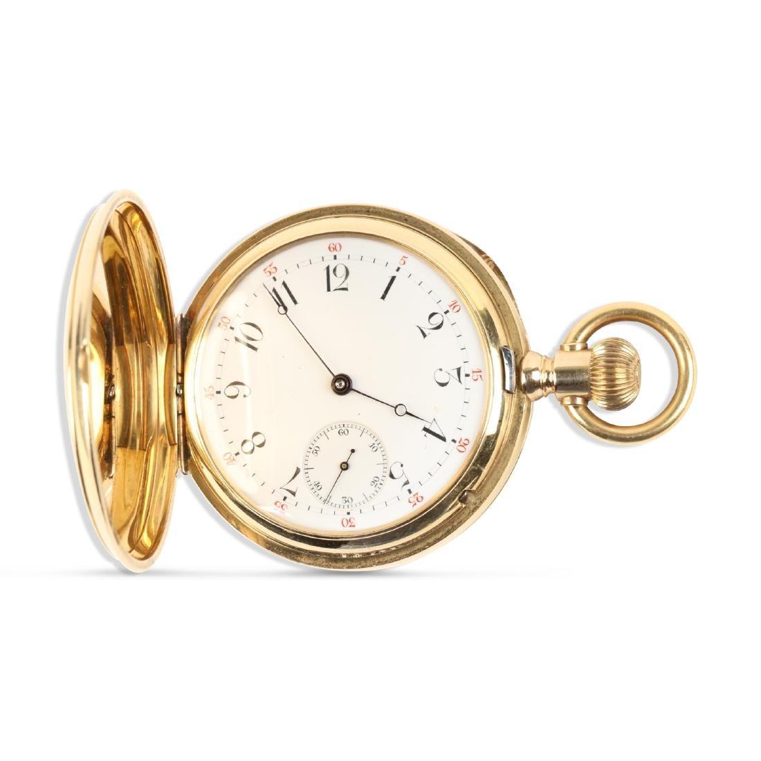 International Watch Co., 18K Gold Pocket Watch