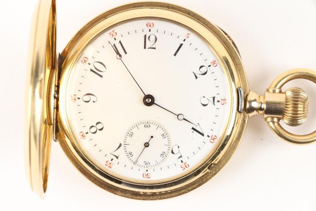 International Watch Co., 18K Gold Pocket Watch - 2