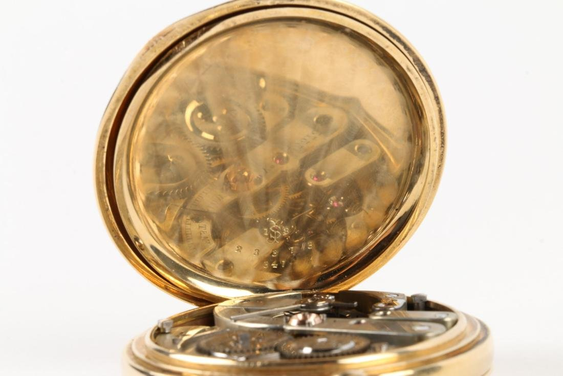 International Watch Co., 18K Gold Pocket Watch - 8