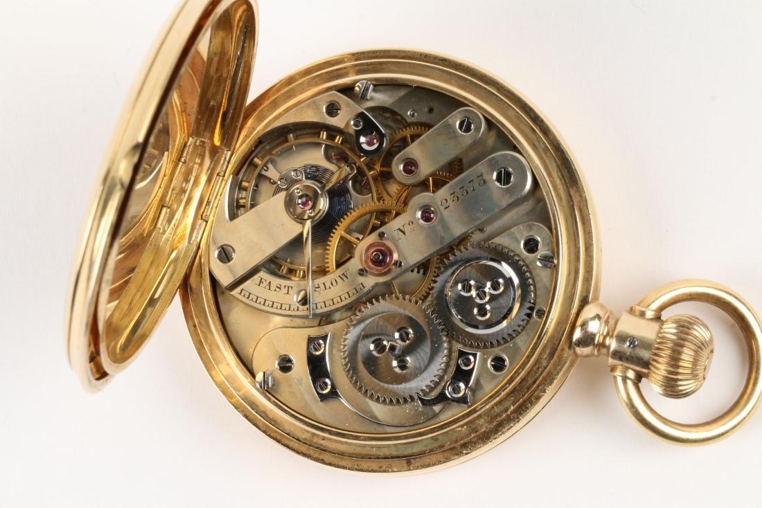 International Watch Co., 18K Gold Pocket Watch - 9