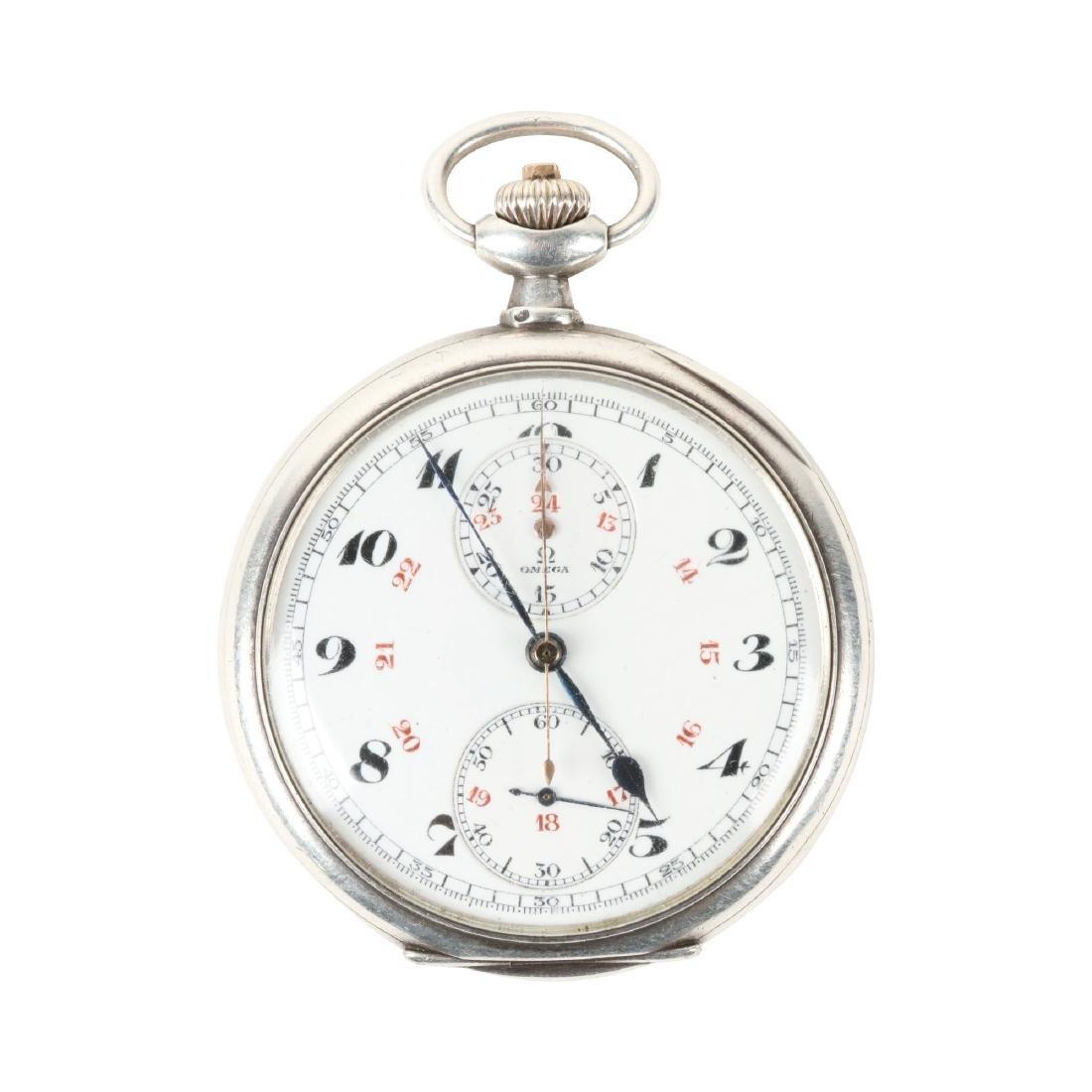 Omega, Chronograph Pocket Watch